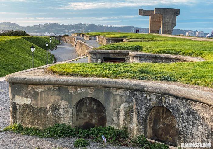 Cerro de Santa Catalina, zona verde en Gijón