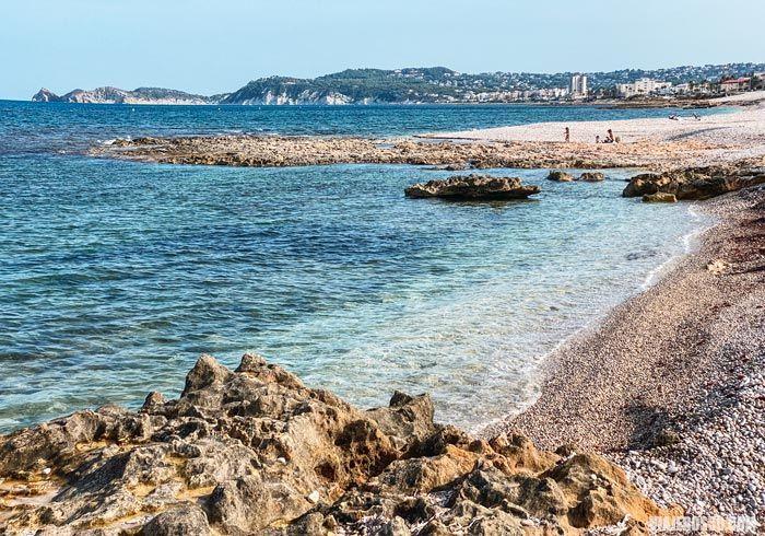 Playas de Jávea en Alicante