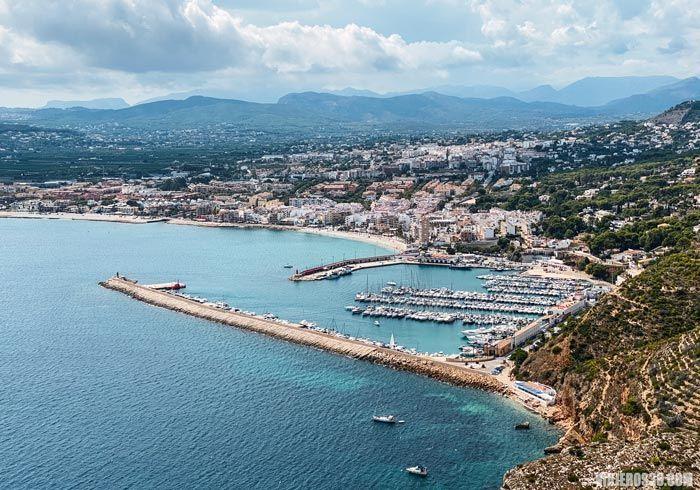 Vista general de Jávea, Alicante