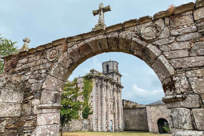 El Monasterio de Monfero, qué ver en Fragas do Eume