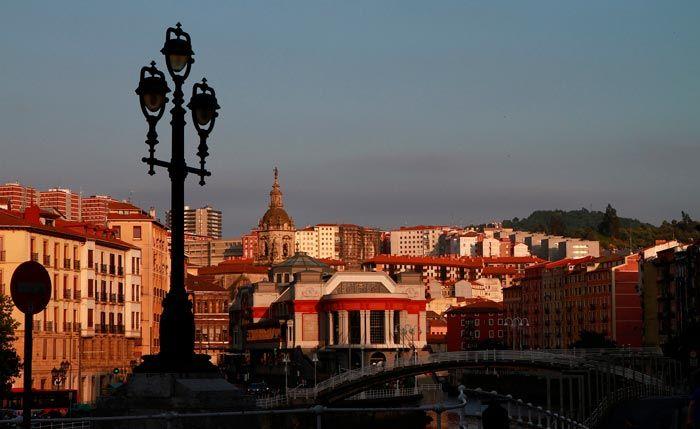 Centro histórico de Bilbao.