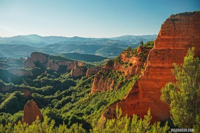 Castaños de Las Médulas, bosques de León