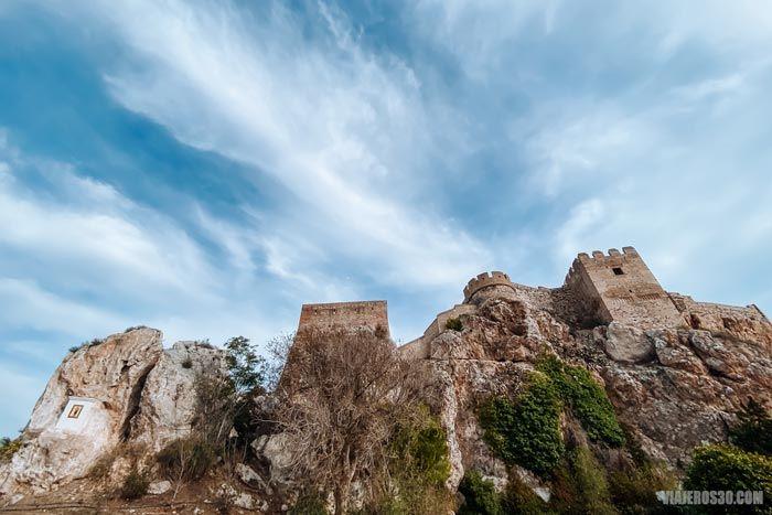 Castillo de Salobreña, que ver en la Costa Tropical.