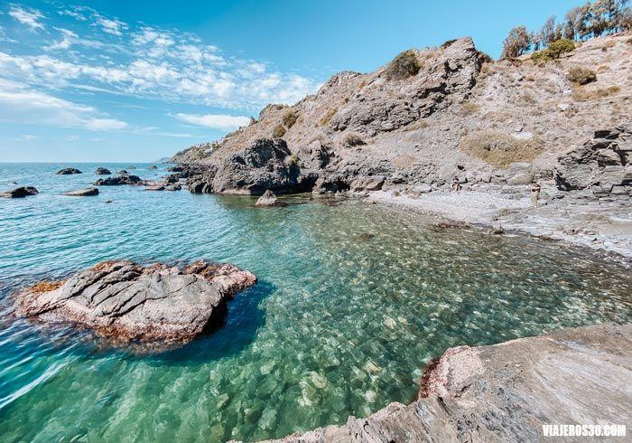 Playa del Caletón, qué ver en Salobreña
