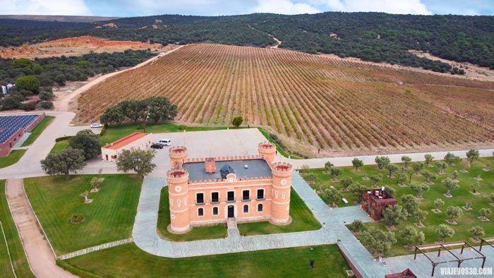 Castillo de Monte la Reina, enoturismo en Toro.