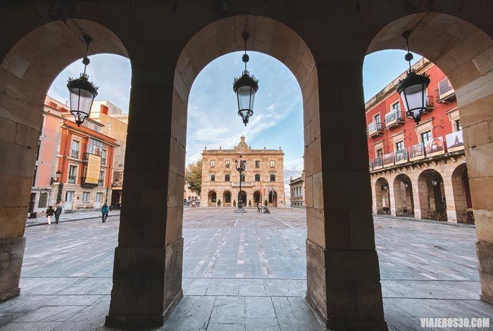 Plaza Mayor de Gijón, qué ver en un día