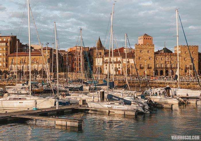 Qué ver en Gijón en un día, el Puerto Deportivo