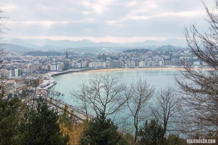 Vistas de San Sebastián