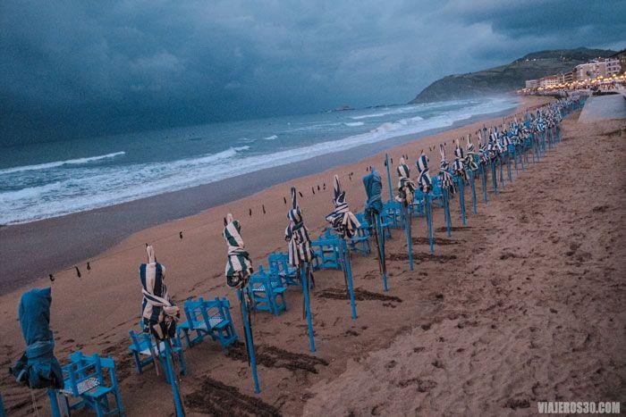 Playa de Zarautz, uno de los pueblos más bonitos de País Vasco