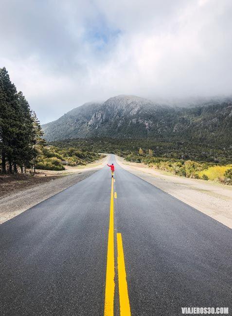 Carreteras en San Carlos de Bariloche.