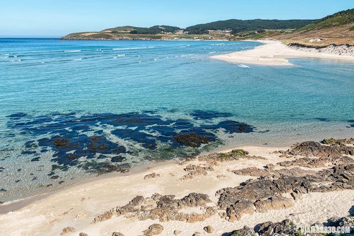 Playa de Lires en Galicia.
