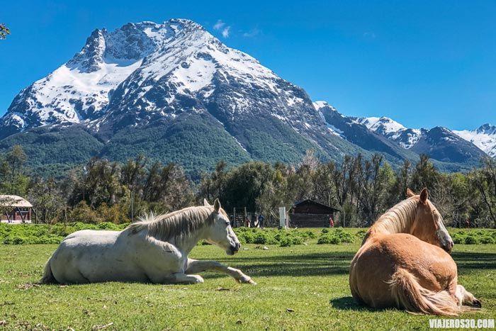 Pampa Linda, excursión de Bariloche al Cerro Tronador.