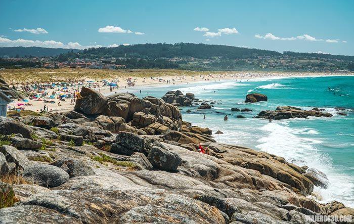 Playa A Lanzada, Galicia