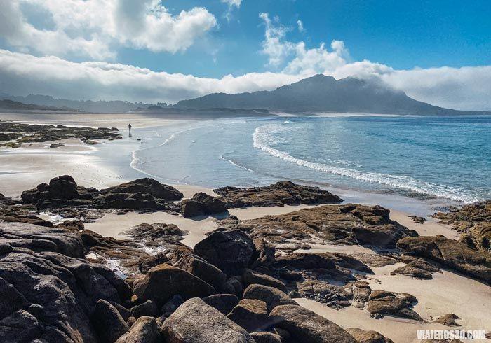 Areia Maior, una de las mejores playas de Galicia