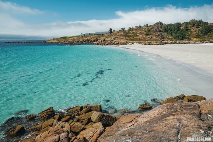 Playa de San Pedro en Galicia