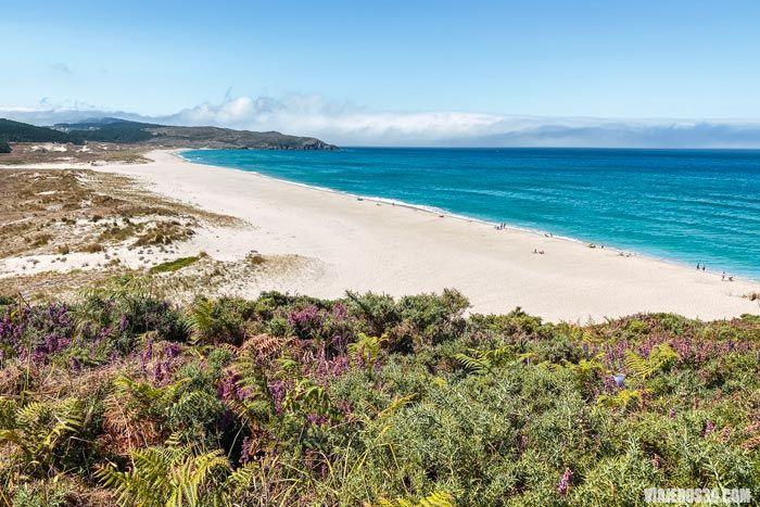 Playa del Rostro, las mejores playas de Galicia.