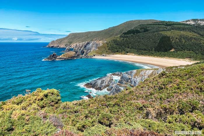 Mejores playas de Galicia: playa de Esteiro