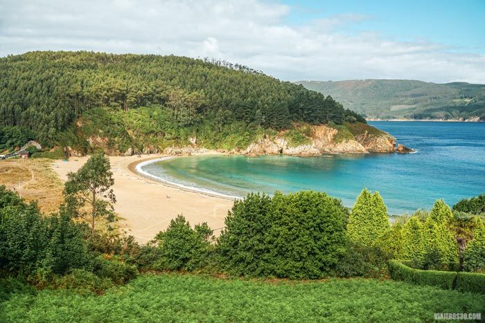 Playa de Xilloi, Galicia