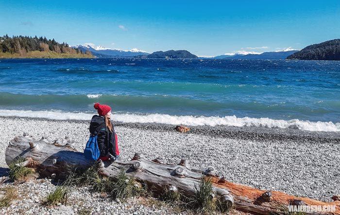 Playa bonita, qué ver en Bariloche en 3 días.