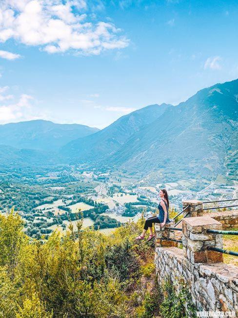 Mirador del Valle de Benasque en Huesca