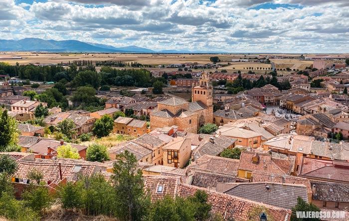 Vista panorámica de Ayllón, Segovia