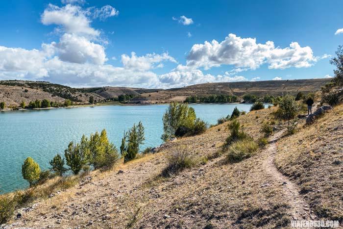 Hoces del río Riaza, embalse de Linares