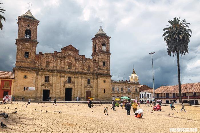 Centro histórico de Zipaquirá.
