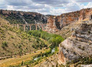 Parque Natural Hoces del Río Riaza, rutas de senderismo