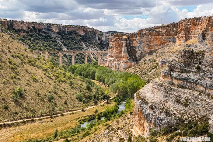 Parque Natural Hoces del río Riaza, rutas.