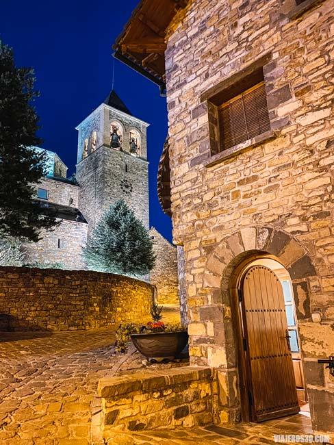 El precioso pueblo de Aísa en Huesca