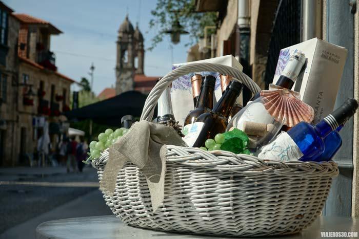 Cambados, la capital del vino Albariño.
