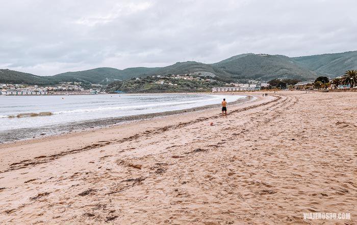 Playa de Covas en Viveiro.