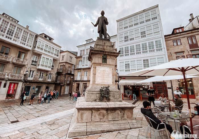 Plaza Mayor, que ver en Viveiro