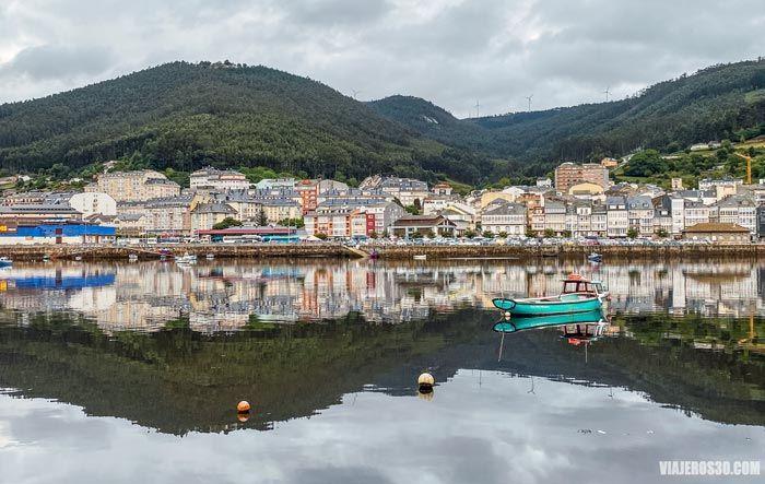 Ría de Viveiro, Galicia.