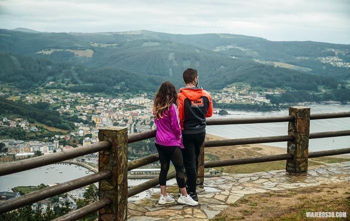 Qué hacer y ver en Viveiro: mirador de San Roque.