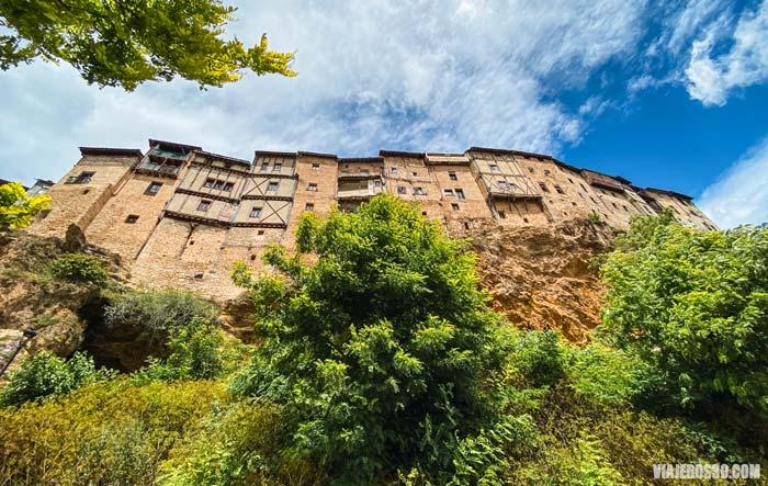 Casas colgadas de Frías en Burgos