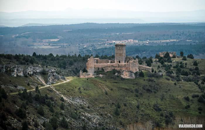 El Castillo de Ucero, qué ver en el Cañón del río Lobos