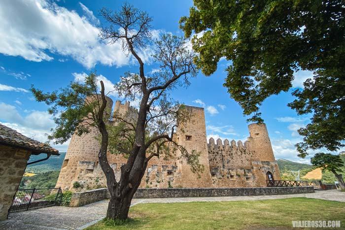El Castillo de Frías en Burgos.