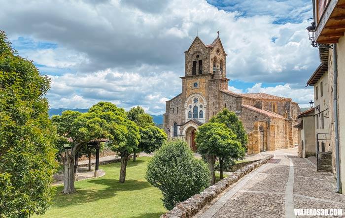 Iglesia de San Vicente, qué ver en Frías