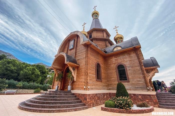 Iglesia Ortodoxa Rusa San Miguel Arcángel en Altea