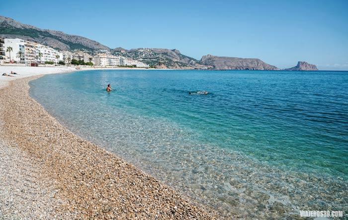 Playas que ver en Altea, Alicante.