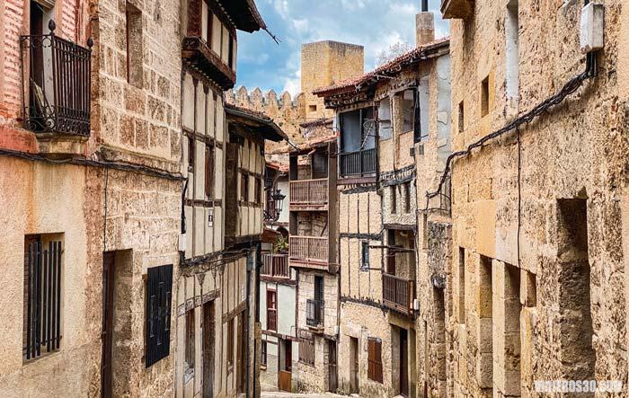 Calles medievales de Frías (Burgos)