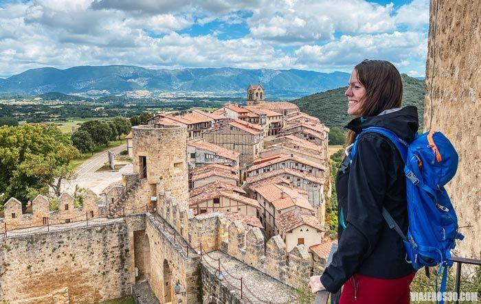 Vistas desde el castillo de Frías