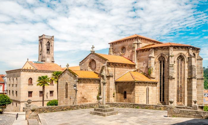 Iglesia de Santa María en Betanzos.