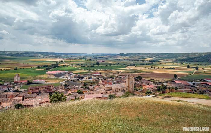 Qué ver en Castrojeriz en Burgos y el Camino de Santiago.