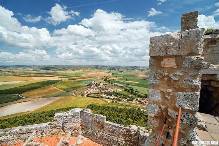 Castillo de Castrojeriz, Burgos.