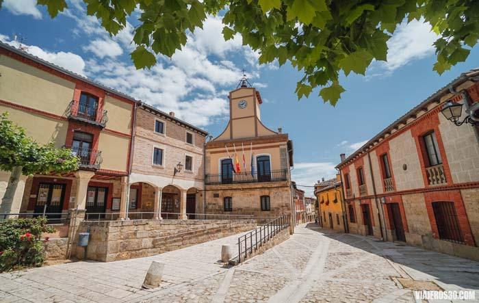 Plaza Mayor y Ayuntamiento de Castrojeriz