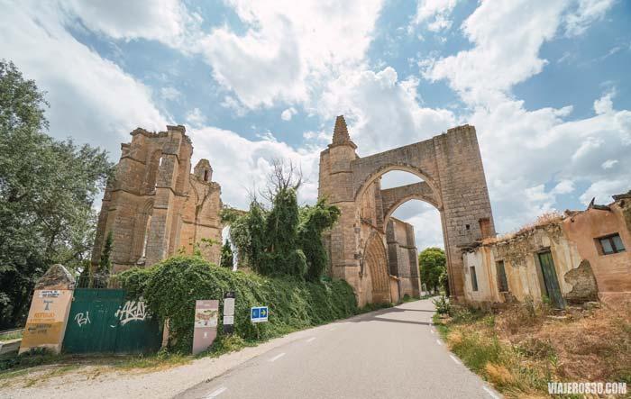 Qué ver en Castrojeriz, Convento de San Antón