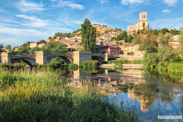 Pampliega, ruta de iglesias como catedrales en Burgos
