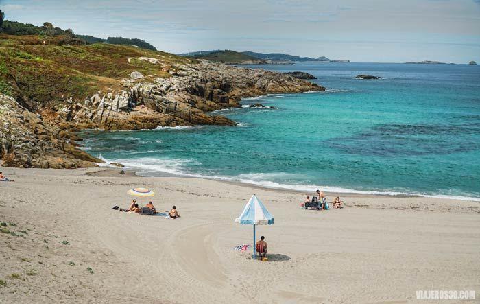 Playa de A Marosa, Lugo, Rías Altas de Galicia